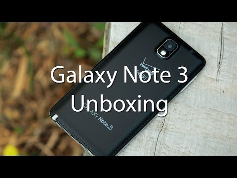 [Unboxing/First Look] Verizon Samsung Galaxy Note 3