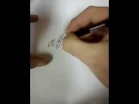 how to draw fancy lettering tattoo