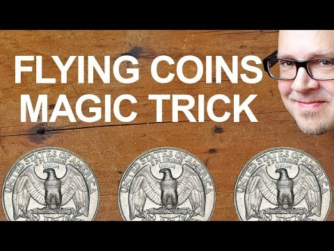 Do INCREDIBLE Magic Trick With ORDINARY Coins! (Insane Coin Trick REVEALED!)