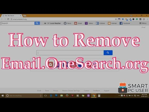 Remove Email.OneSearch.org from All Browsers (Chrome, Firefox, IE, Edge)