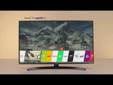 LG UJ670 4K UHD Smart HDR TVs with Freeview HD