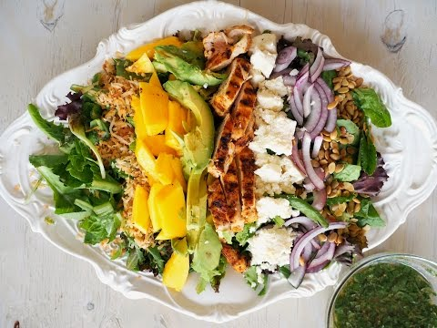 Salad Recipe: Caribbean Cobb Salad by Everyday Gourmet with Blakely