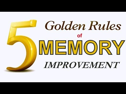 MEMORY   5 Golden Rules of Memory   Memory Improvement Techniques by Mind Your MIND
