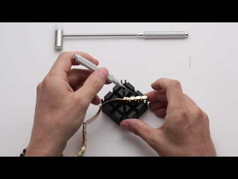 HOW TO RESIZE A MICHAEL KORS WATCH   VIDEO