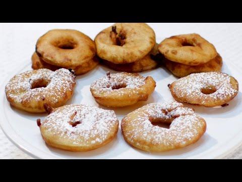 How to make Apple Fritter Rings