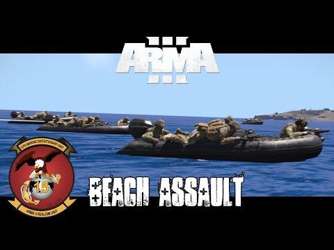 Gambler 3 Beach Assault - ArmA 3 Co-op Gameplay
