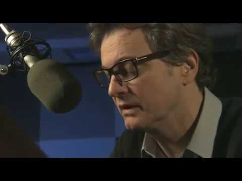Colin Firth Reading 'The End of the Affair' (Audiobook) - Behind the Scenes Footage - 1