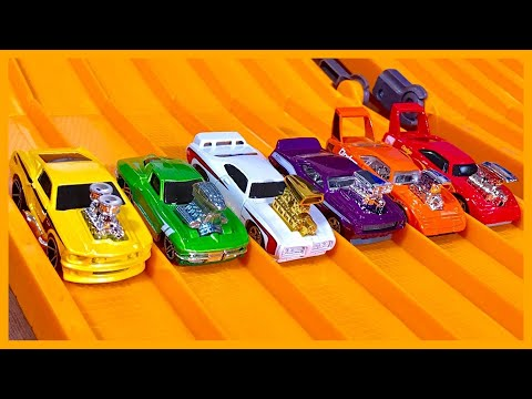 RACE: TOON'D MUSCLE CARS, Series 7, Race 5 - Hot Wheels