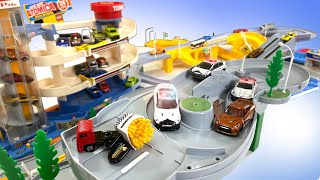 TOMICA POLICE VS French Fry Thief at Tomica Town