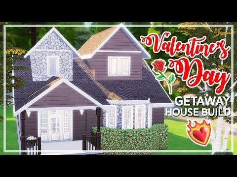 The Sims 4 - Valentine's Day Getaway House | Speed Build