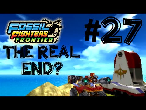 Fossil Fighters: Frontier Nintendo 3DS THE REAL END? Walkthrough/Gameplay Part 27 English!
