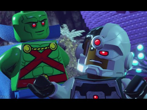 LEGO Batman 3 - 100% Guide #12 - Jailhouse Nok (All Collectibles - Minikits, Red Brick etc)