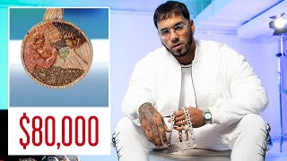 Anuel AA Shows Off His Insane Jewelry Collection | GQ