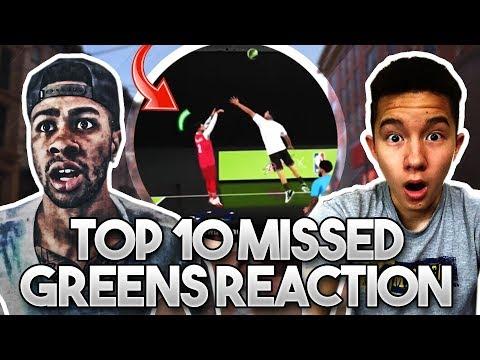 Top 10 MISSED GREENS in 2K18 Reaction!! Funniest Rage Ever!! | PeterMc