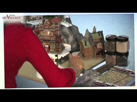 Build Your Own Christmas Village with My Village