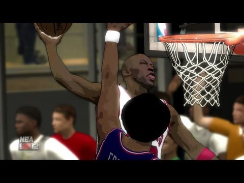 NBA 2k12 1 on 1 Dr J vs MJ Gameplay Video (PS3)