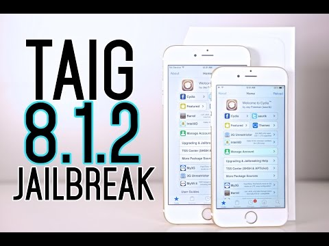 How To: Jailbreak iOS 8.1.2 with TaiG