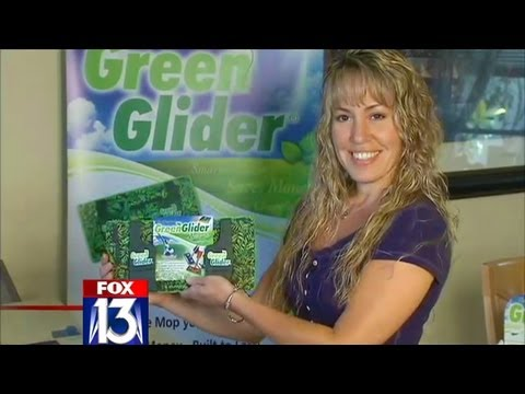 Green Glider Mop Pad featured on Fox News!
