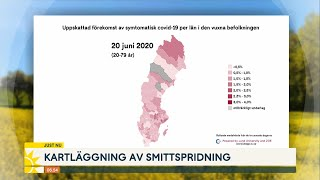 Här är platserna i Sverige där smittspridningen väntas stiga - Nyhetsmorgon (TV4)