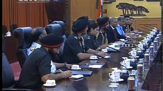 Indian army chief visits Beijing