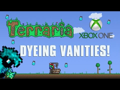 Terraria Xbox One Let's Play - Dyeing Vanities [82]