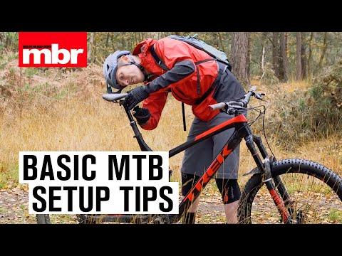 Basic MTB Setup Tips | Mountain Bike Rider