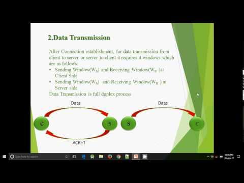 TCP Handshaking and Acknowlegement Type