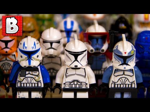 Every Lego Clone Trooper Ever!!! Rare May the 4th Shadow ARF Trooper! | Collection Review