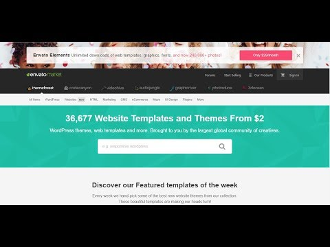 How to Download Almost Any Themeforest Premium Website Template