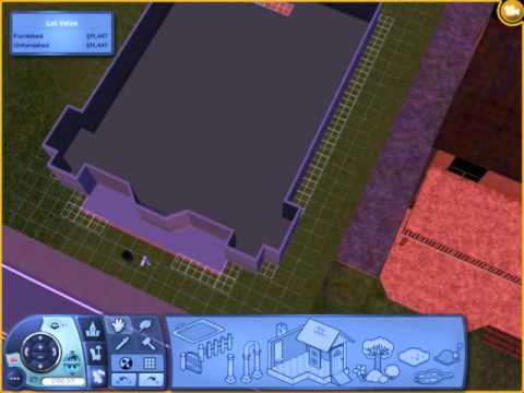 sims 3 how to build a basement