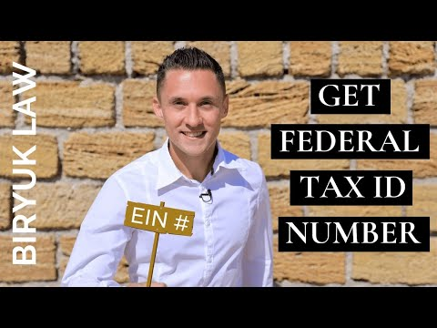 EIN Number: How to Get Federal Tax ID Number