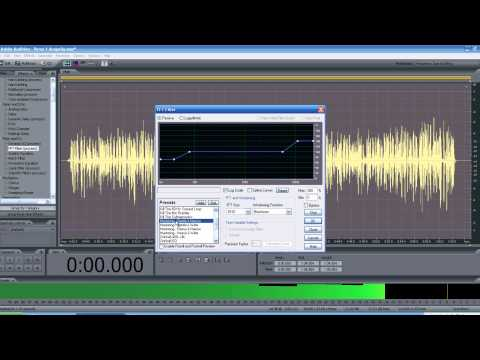 Rap and R&B Vocals In Adobe Audition 3.0 Tutorial