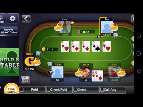 Texas HoldEm Poker Deluxe - Mobile Game - Gameplay - Poker App - Android - iPhone - Windows