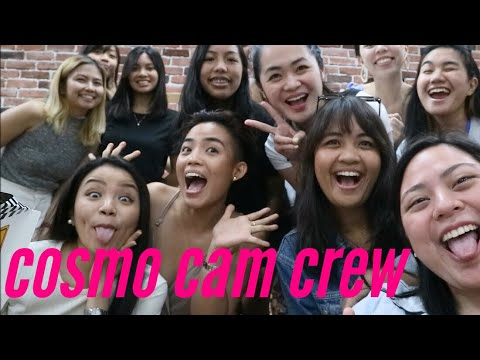 VLOG: OFFICIAL! I AM PART OF THE COSMO CAM CREW!! Chase Salazar