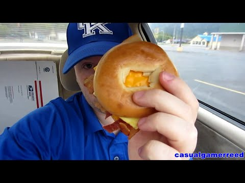 Reed Reviews Mcdonald's Bacon Egg And Cheese Bagel