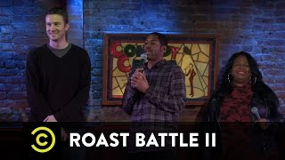 Roast Battle II: New York Regionals - Yamaneika Saunders vs. J.P. McDade - Uncensored