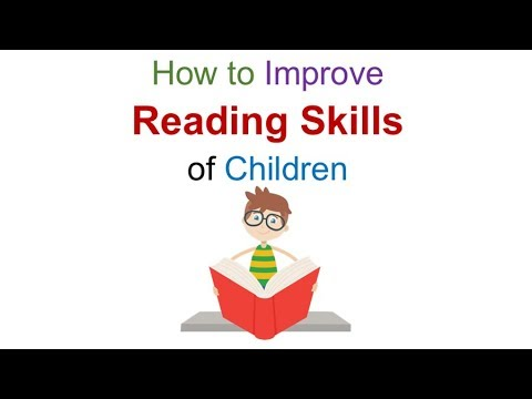 How to improve reading skills of children