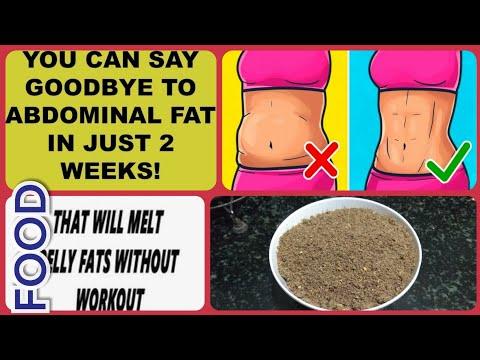 How to get flat stomach:  FLAXSEEDS  chutney powder
