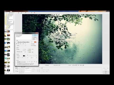 How to Add Text to Image Using Photoscape