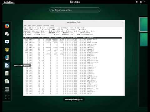 OpenSUSE 13.2  x86_64. GNOME desktop.