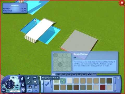 The Sims 3 - How to build a bridge