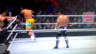 the usos vs the wolves wwe2k14