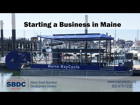 Starting Your Small Business - Steps to Success - Maine SBDC