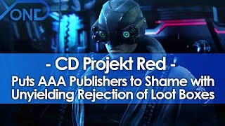 CD Projekt Red Puts AAA Publishers to Shame with Unyielding Rejection of Loot Boxes
