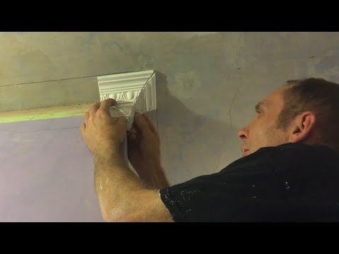 How to cut external mitres on coving step by step