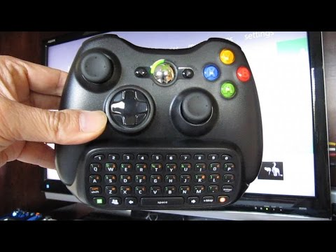 Xbox 360 Chatpad Keypad and Headset Combo - Full Review