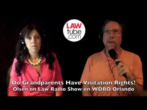 Do grandparents have a right to visit their grandchildren in Florida?