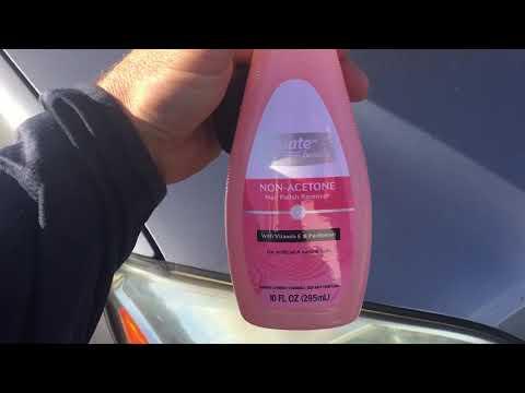 Headlight Oxidation Cleaner Part 1