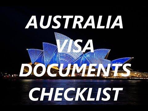 How to apply Australia visa | Visa Documents Checklist | Australia Visitor Visa Requirements