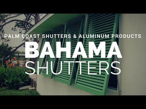 Bahama Shutters from Palm Coast Shutters